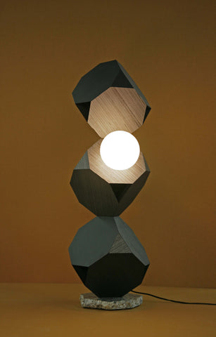 "Jason Peters, ""Totem 3 (one globe)"""