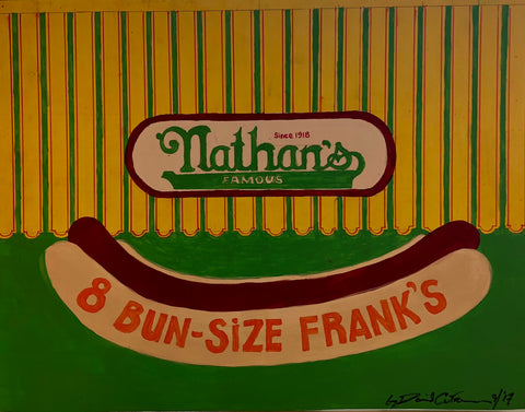 "Dave Cutrone, ""Nathan's"" SOLD"