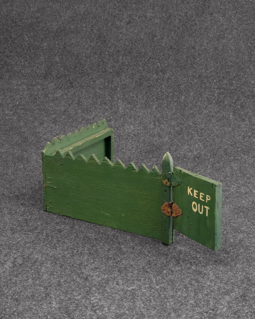 "Unknown, ""Keep Out Gate"" (SOLD)"