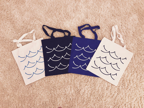 SPRING/BREAK Making Waves Tote Bag