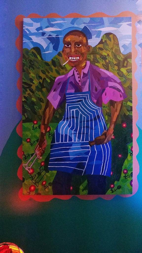 "Azikiwe Mohammed, ""Cousin Harry or Uncle James Pt. 1"" SOLD"