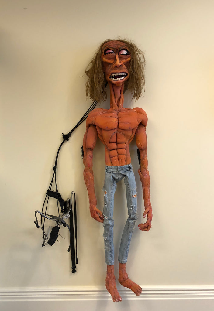 "Johnny Sabbagh and Nick Ball,  ""Untitled (Puppet from the music video for The BPA feat. Iggy Pop, from He's Frank)"""