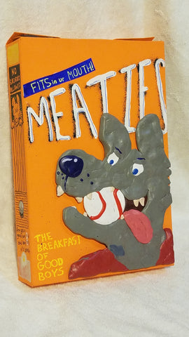 "Mark Zubrovich, ""Meaties Box 1"""