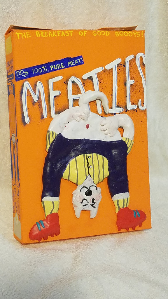 "Mark Zubrovich, ""Meaties Box 5"""