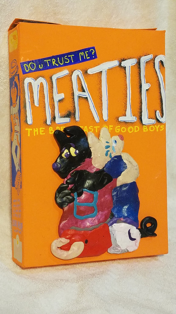 "Mark Zubrovich, ""Meaties Box 6"""
