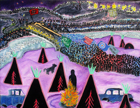 "Haley Hughes, ""Standing Rock"""