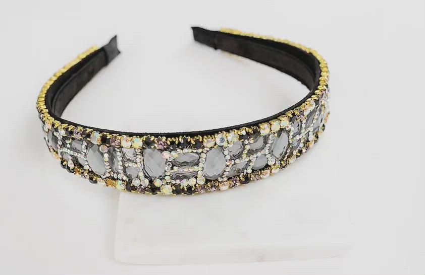 Bedazzled headband