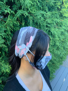 Comfy mask with head wrap