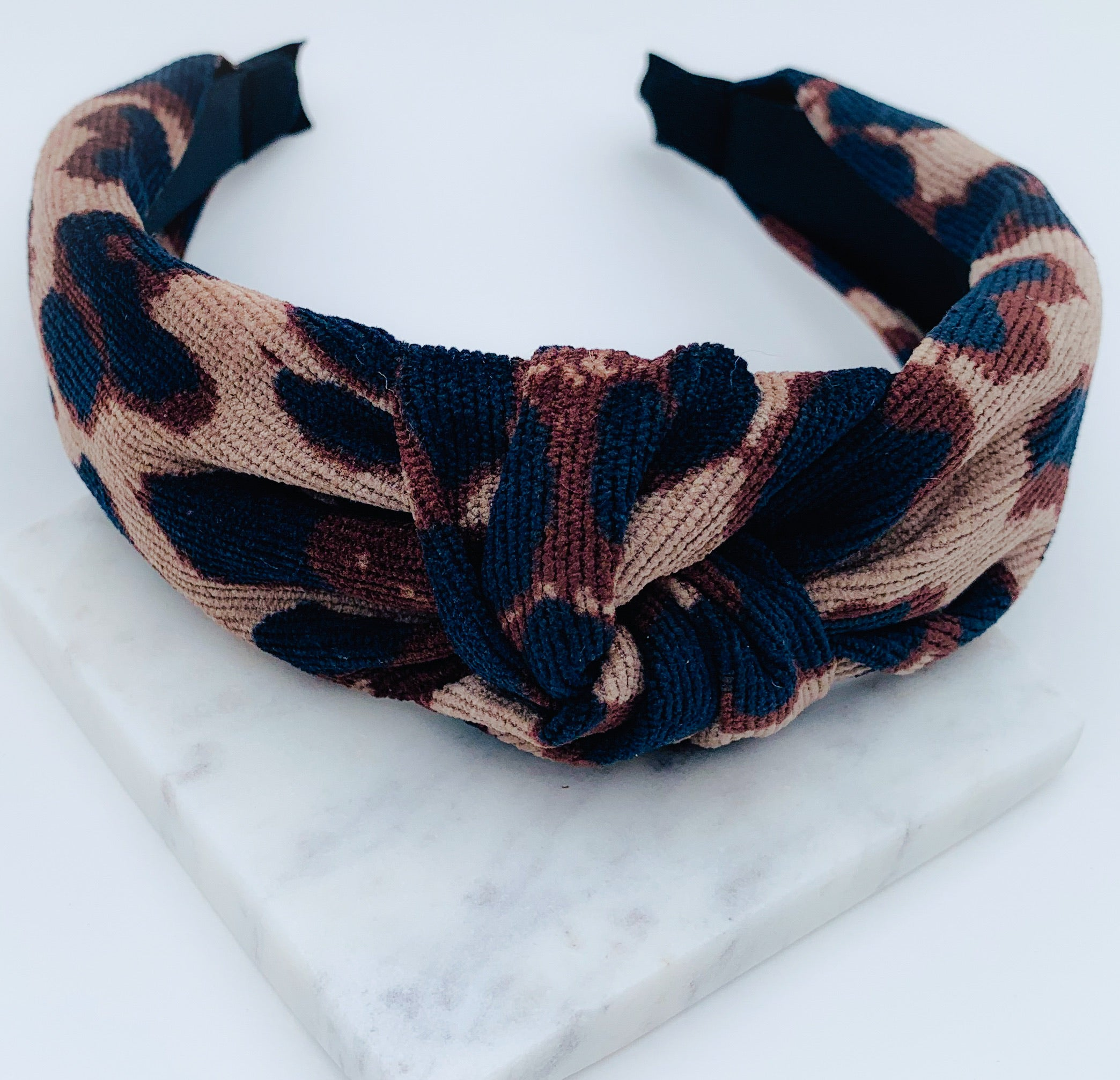 Leopardess headband
