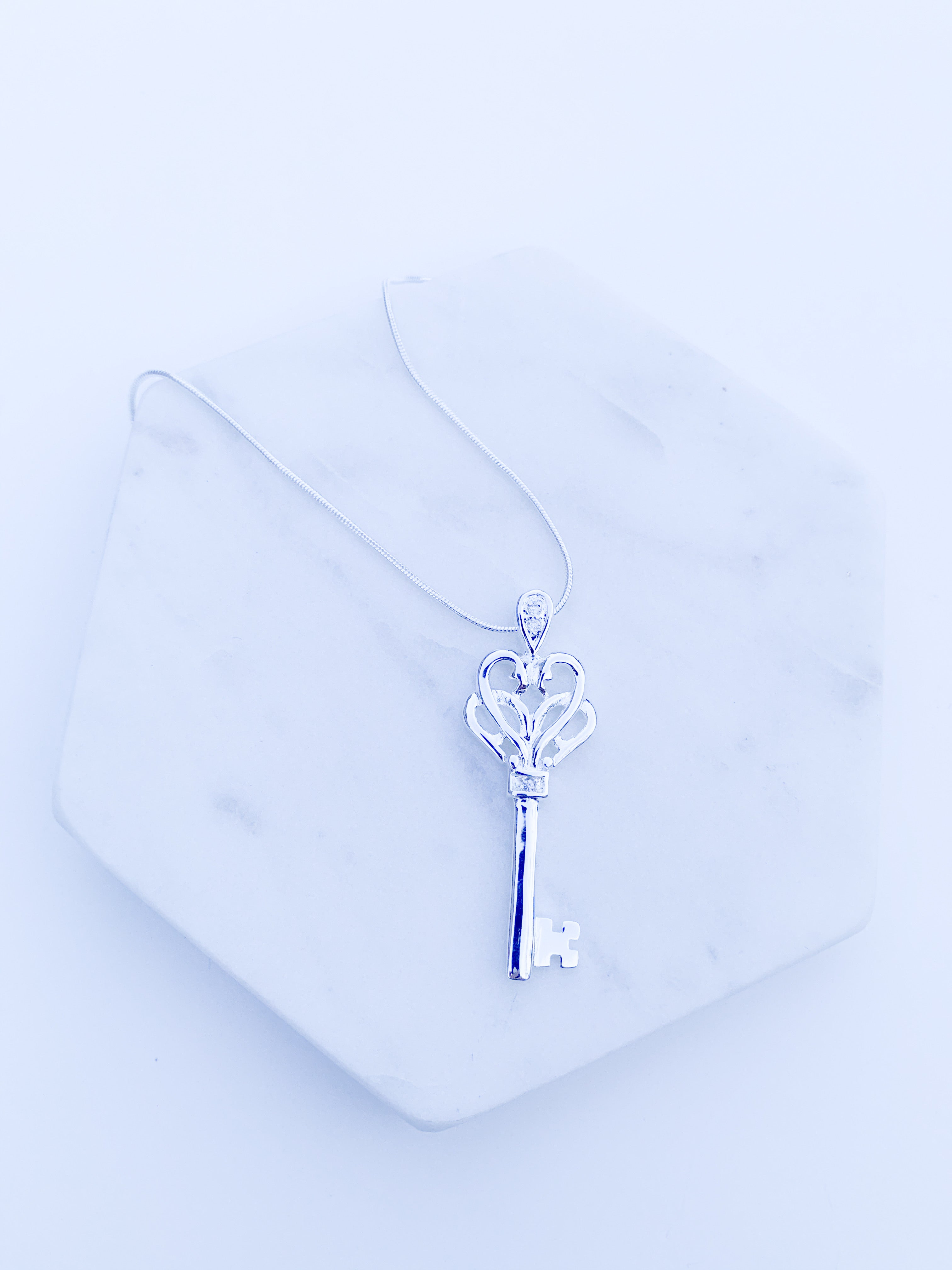 Secret key necklace