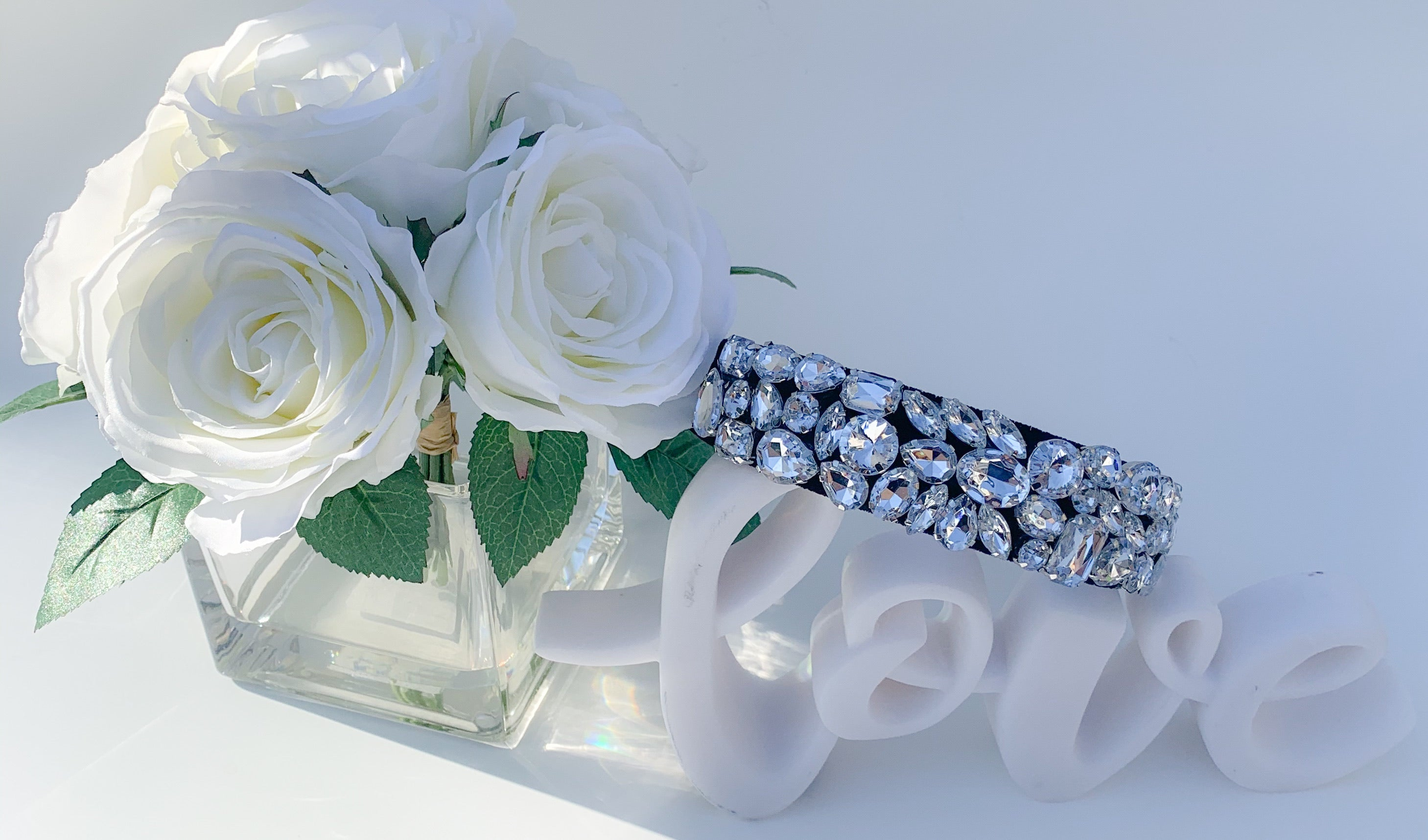The sparkle and glam headband