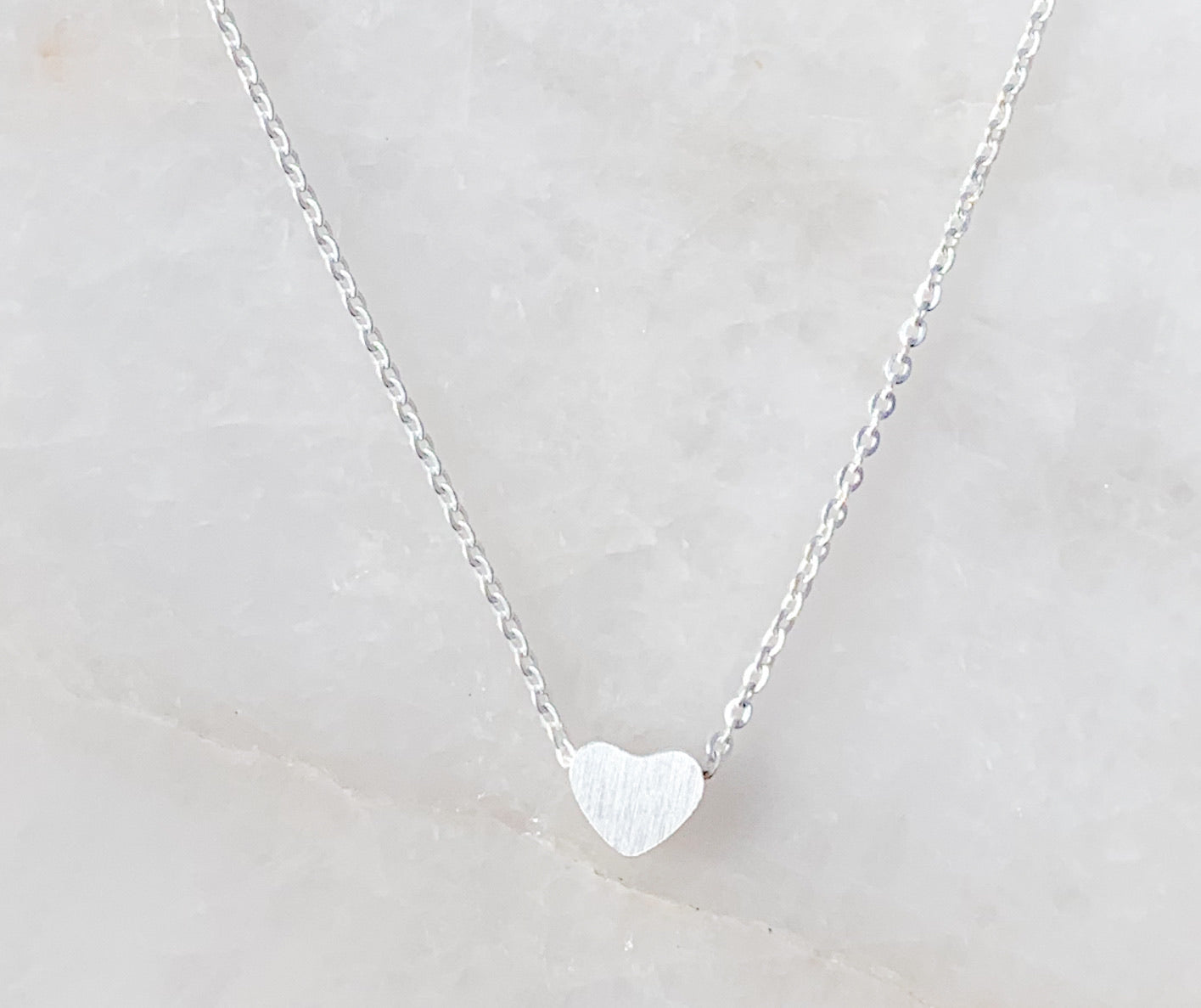 Mini Mighty Heart Necklace
