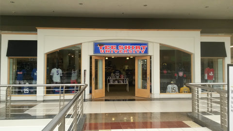 Tee Shirt University Galleria mall