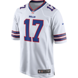 Men's Buffalo Bills Josh Allen Nike White Away Game Jersey