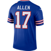 Men's Buffalo Bills Josh Allen Nike Royal Legend Dri fit