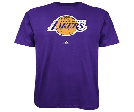 Los Angeles Lakers Adidas NBA T Shirt - TeeShirtUniversity.com