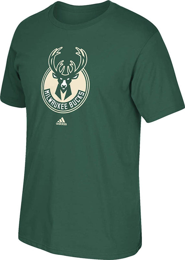 Milwaukee Bucks Adidas NBA T Shirt - TeeShirtUniversity.com