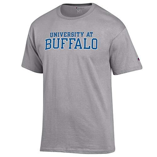 University at Buffalo Wordmark NCAA T-Shirt- Gray - TeeShirtUniversity.com