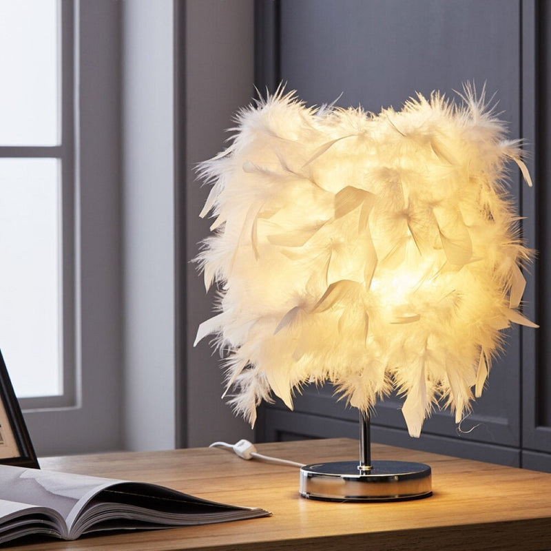 LED Lamp Feather Romantic Living