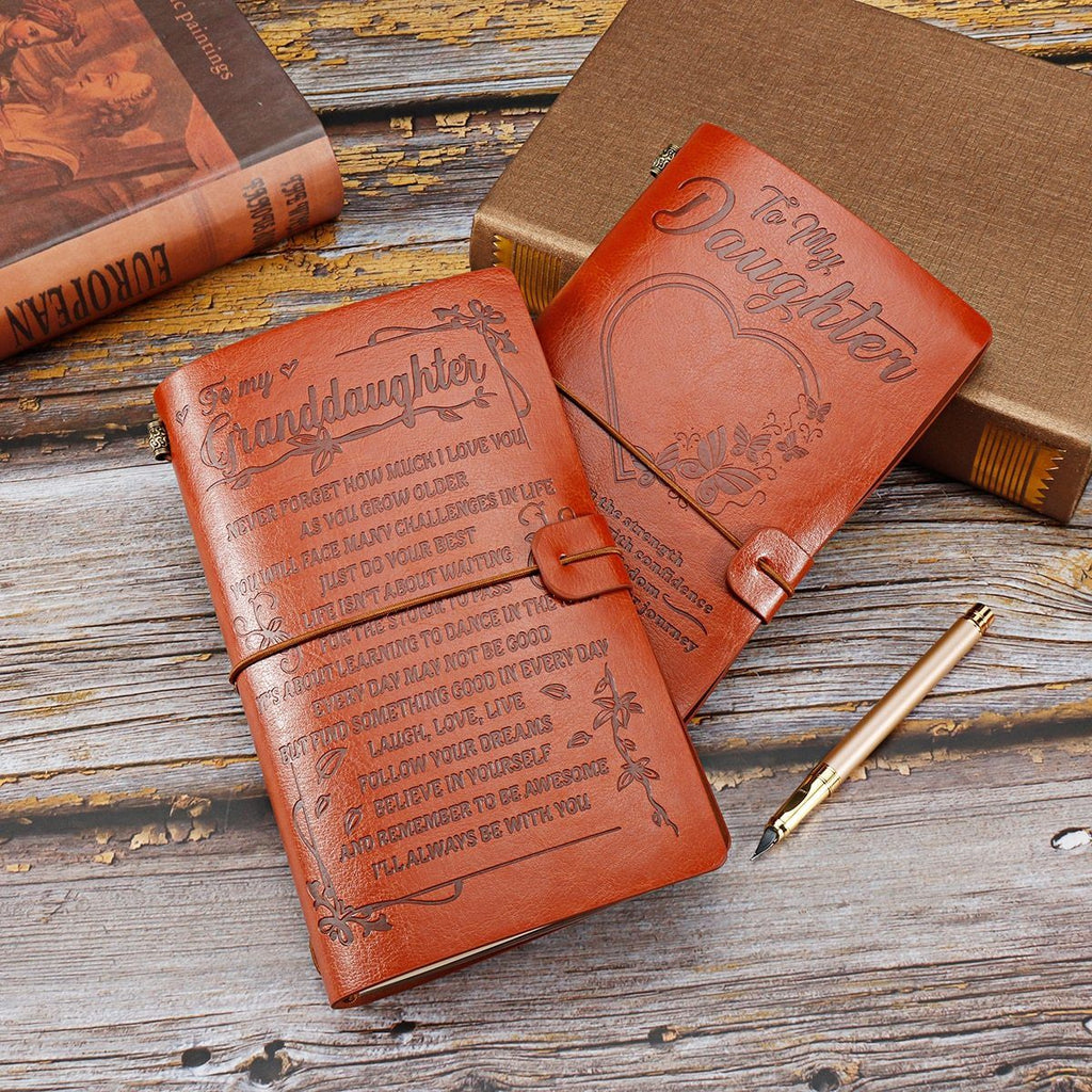 VINTAGE ENGRAVED JOURNAL 211105 Emporiumz Store