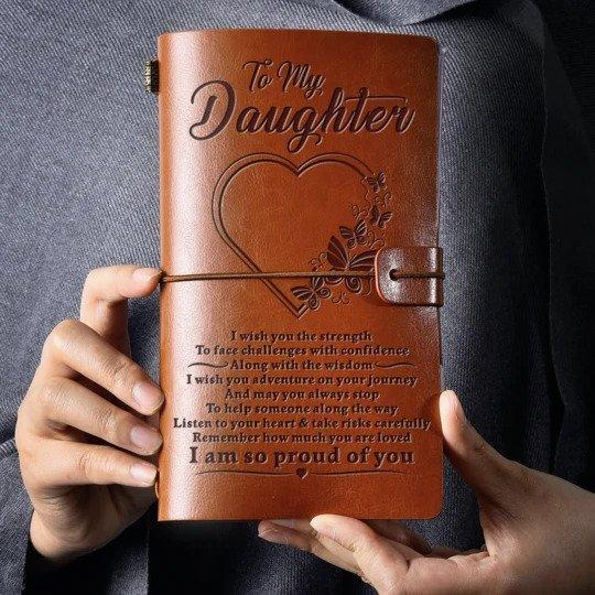 VINTAGE ENGRAVED JOURNAL 211105 Emporiumz Store For Daughter