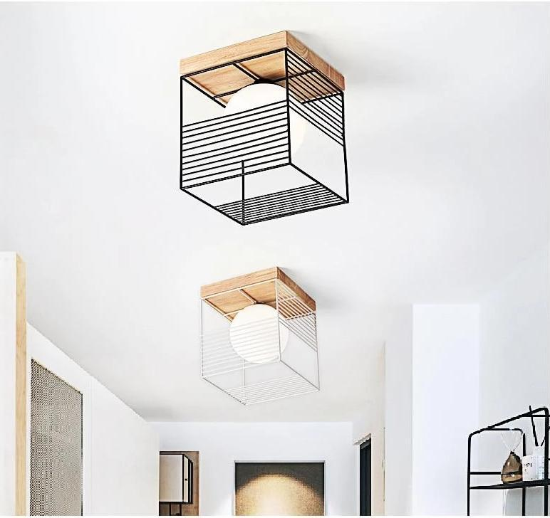 Escher - Vintage Cage Ceiling Lights
