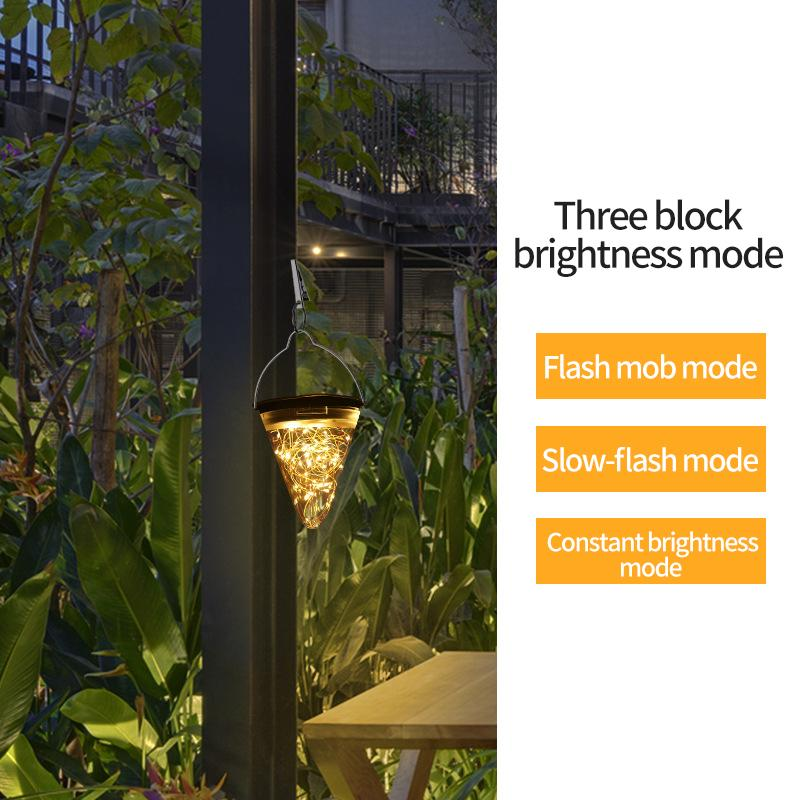 Cam - Solar Powered Hanging Lights
