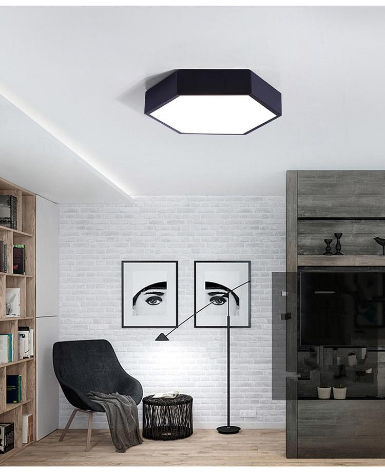 Hex Ceiling Lights