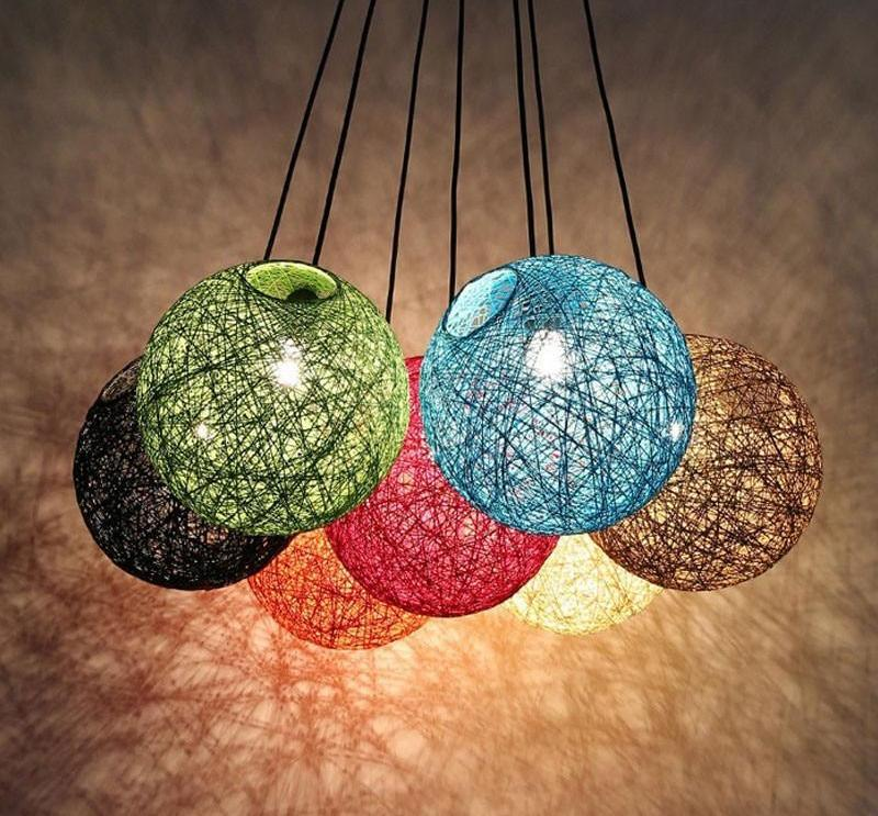 Hilde - Vintage Wicker Pendant Lamp