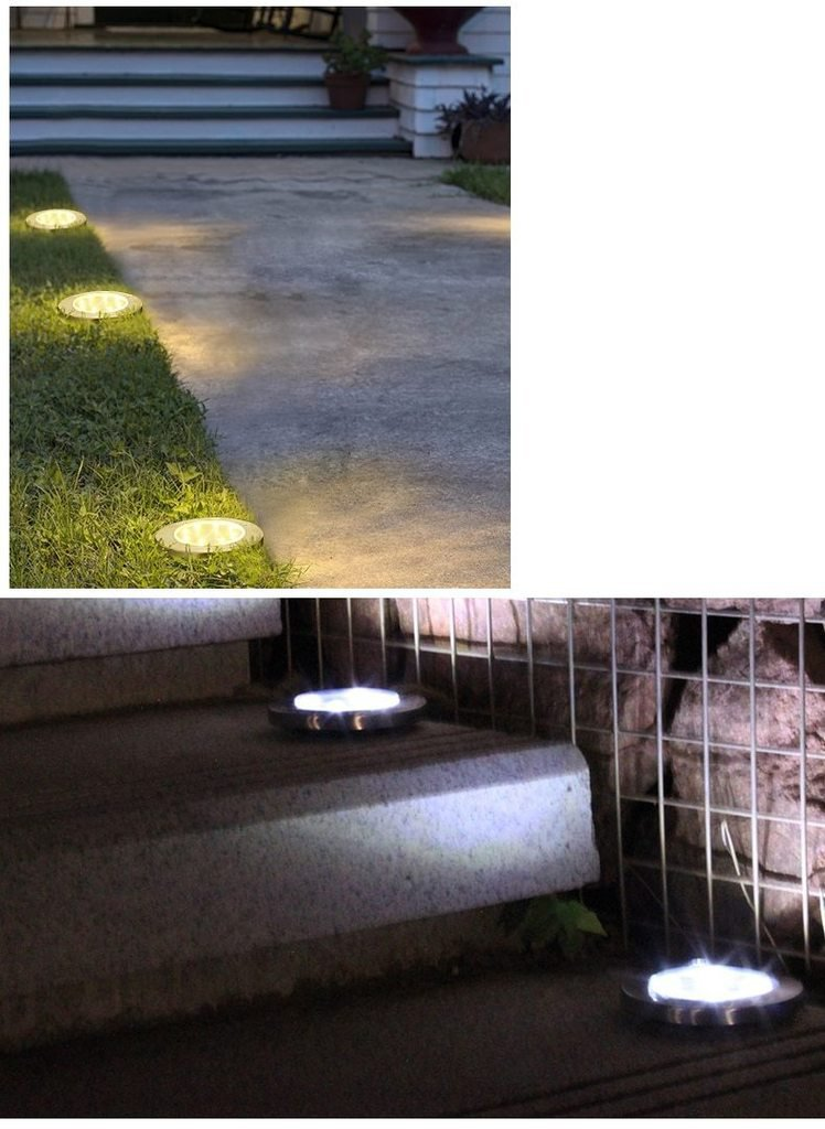 Callan - Solar Powered Garden Ground LED Light