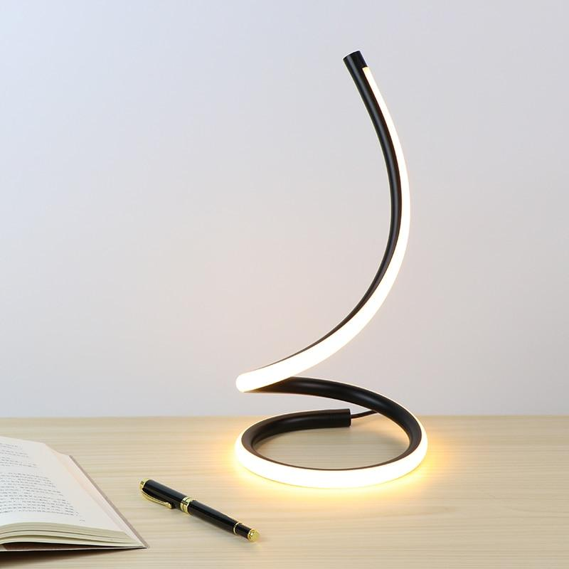 Sansa - Dimmable Spiral Desk Lamp