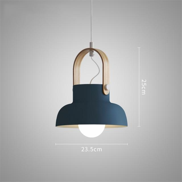 Petah - Modern Nordic LED Hanging Dome Lights
