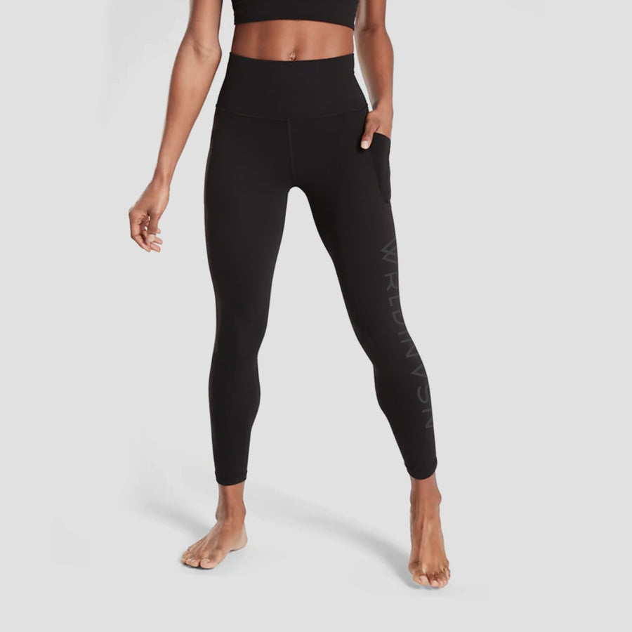 Women Black On Black Leggings