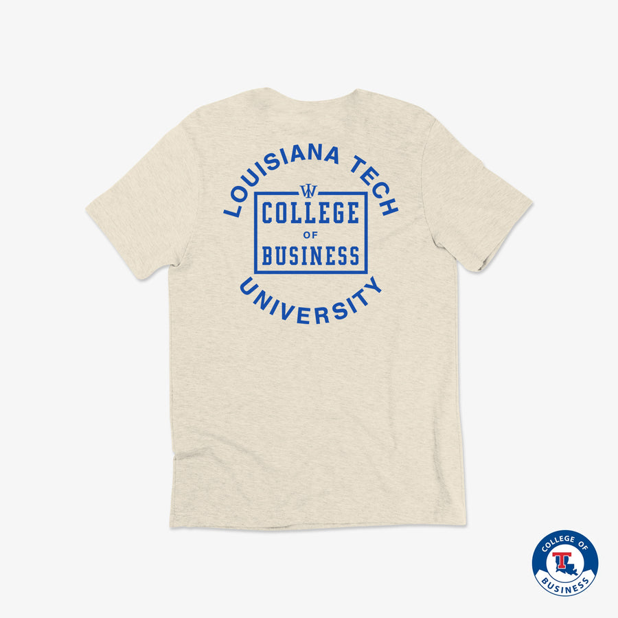 College of Business &  WRLDINVSN 2019 T-Shirt V2