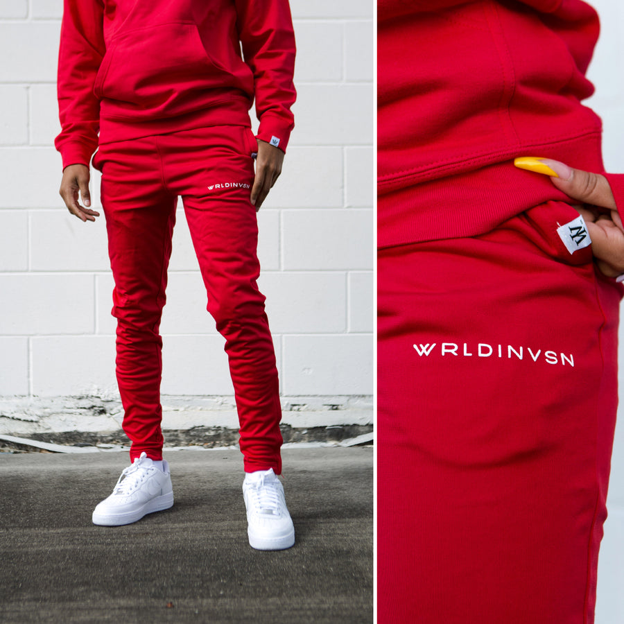 Track Pants (Red)