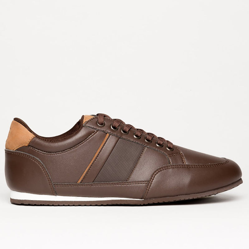 PRAGA BROWN STYLISH SNEAKERS - Clickstore
