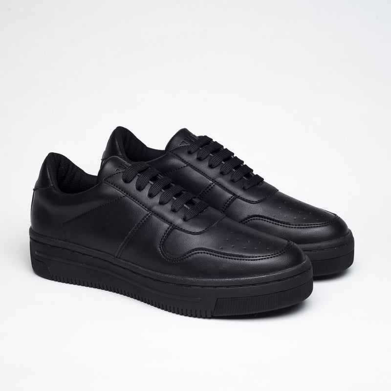 TOTAL BLACK OXYGEN SNEAKERS - Clickstore