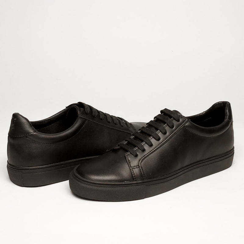 SOLID BLACK 1 /MM BASSIC SNEAKERS - Clickstore