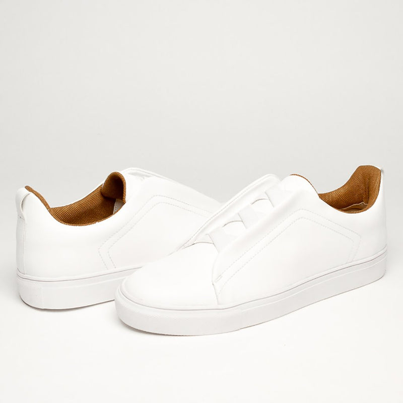 HELIUM BTWO WHITE SNEAKERS - Clickstore