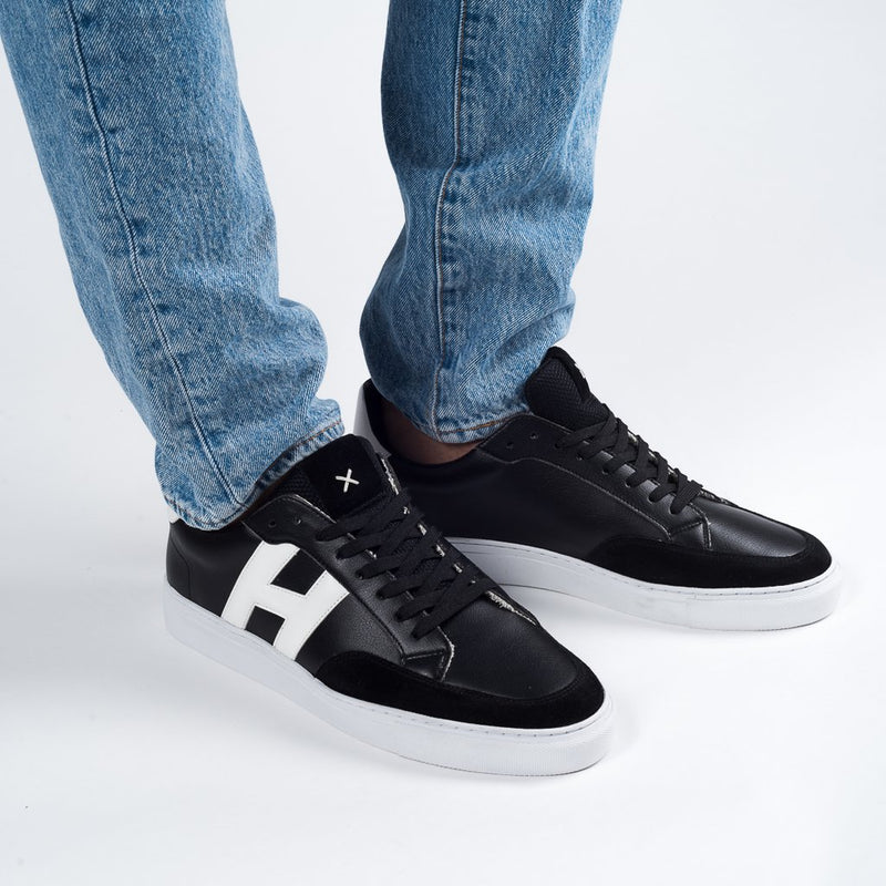 BLACK PRO H-ONE ELITE SNEAKERS - Clickstore