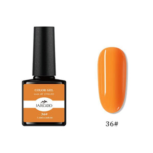 JARGOD Soak off Gel nail polish UV LED Salon Professional 7.5ml Base Top Coat Varnish
