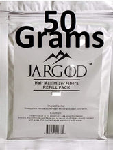 Load image into Gallery viewer, 50 Gram JARGOD Hair Building Fibers - Refill bag - Hair Loss Concealer For Thinning Hair - JARGOD