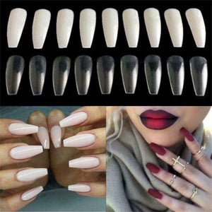 False Nails 10 Sizes- for Nail Salons and DIY Nail Art by JARGOD