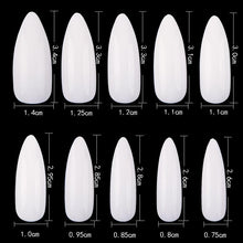Load image into Gallery viewer, Long Almond Full Cover Nails -jargod
