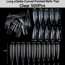 Load image into Gallery viewer, False Nail Tips 500Pcs-jargod
