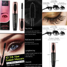 Load image into Gallery viewer, 4D Silk Fiber Eyelash Mascara Waterproof Magic Extension Long Lasting Eye Lashes