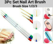 Load image into Gallery viewer, UV GEL Acrylic Nail Art Tip Design Dotting Painting Pen Polish Brush Tool CHOOSE