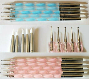 Nail Art Silicone Tip Pen Brushes-jargod