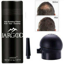 Load image into Gallery viewer, Hair Building Fibers Hair Loss Concealer Thin Hair Solution + Applicator Kit - JARGOD