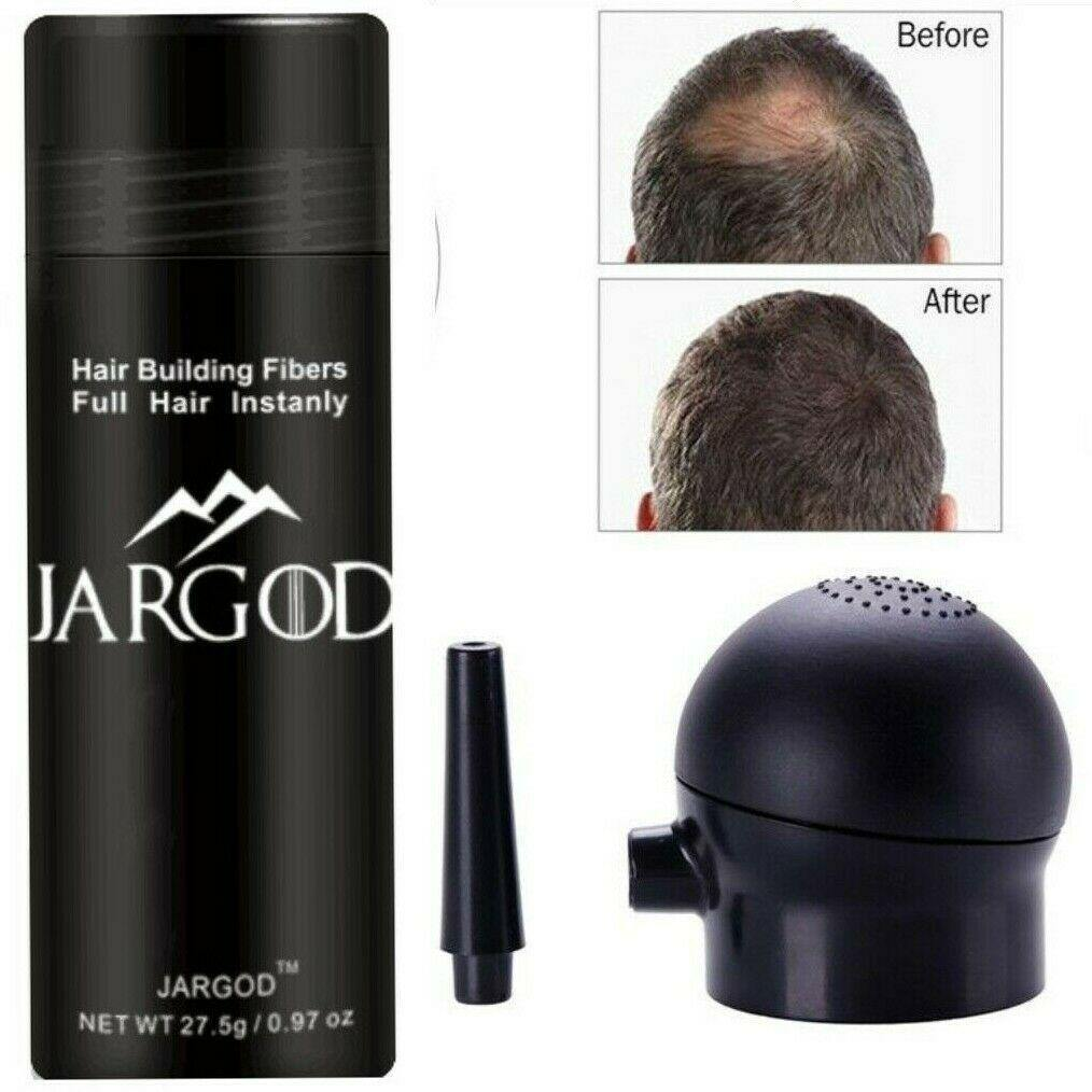 Hair Building Fibers Hair Loss Concealer Thin Hair Solution + Applicator Kit - JARGOD